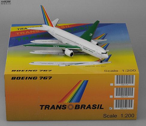 Transbrasil B767-200 Reg:PT-TAC JC Wings 1:200 Diecast XX2730