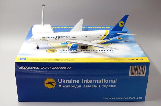 Ukraine International B777-200ER JC Wings scale 1:200 Diecast Models LH2120