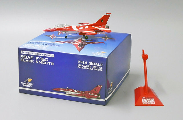 Calibre Wings Singapore Air Force 1/144 F-16C Black Knights Team No.3