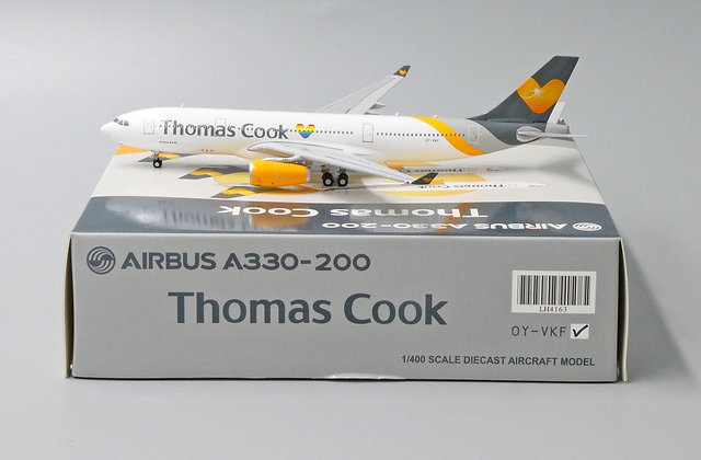 Thomas Cook Airlines A330-200 OY-VKF With Antenna JC 1:400 LH4163