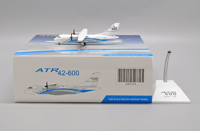 ATR House Colour ATR42-600 Reg: F-WWLY Scale 1:200 JC Wings Diecast LH2234