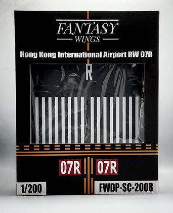 Hong Kong Airport Runway 07R Display Stand 1:200 Fantasywings FWDP-SC-2008