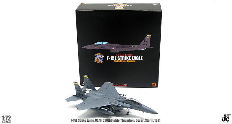 F-15E, USAF, 336th Fighter Squadron, Desert Storm,1991 1/72 JCW-72-F15-008