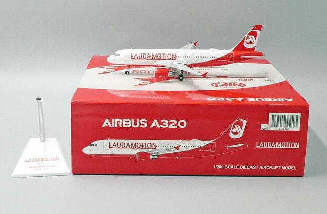 Laudamotion A320 Reg: OE-LOE JC Wings Scale 1:200 Diecast Model LH2206 rare!!