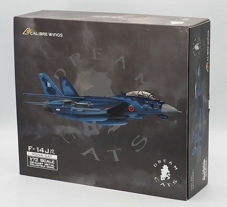 JASDF F-14J KAI Tomcat ''Mona Cat'' Calibre Wings Scale 1:72 Diecast CA72DC01