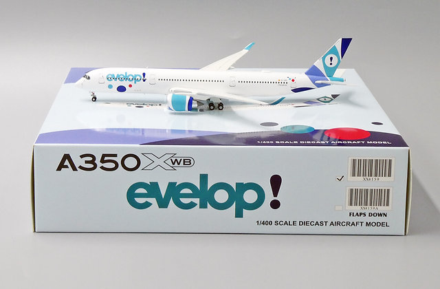 evelop! A350XWB Reg: EC-NBO JC Wings Scale 1:400 Diecast Model XX4159