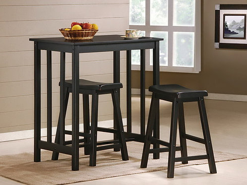 Dina 3 Piece Pub Dining Set