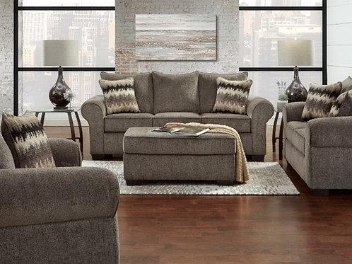 Camero Pewter Sleeper Sofa (Q)