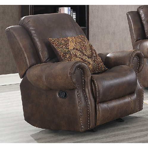 Wyoming Mocha Rocker Recliner