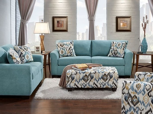 Sensations Capri Sofa & Loveseat w/ Ottoman