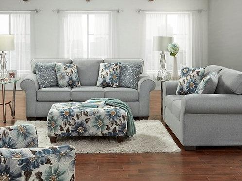 Dryden Steel Sofa & Loveseat w/ Ottoman