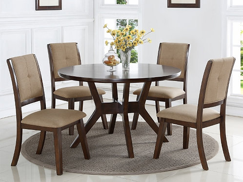 Barney 5pc Dining Set