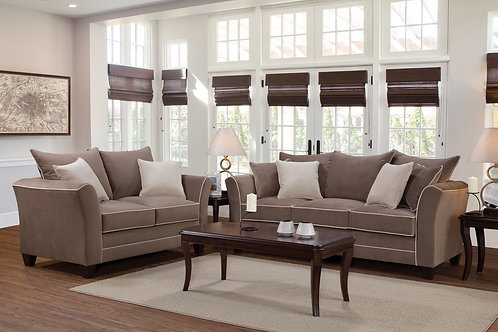 Bing Antler Sofa & Loveseat