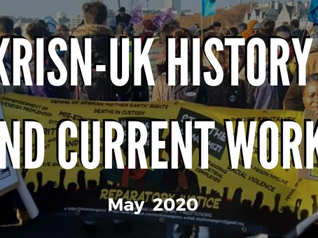 XRISNUK History and Current Work - May 2020