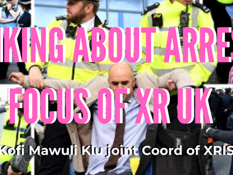 Speaking about the arrest focus of XRUK