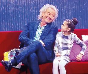 "Selin bei Thomas Gottschalk, TV-SAT1 im Format ""Little big Stars!"""