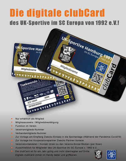 Digitale clubCARD