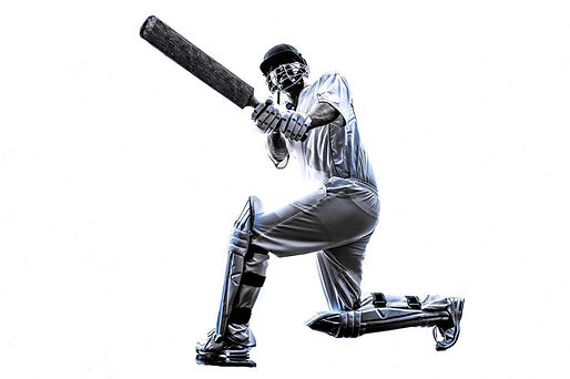 cricket-player-batsman-in-silhouette-sha