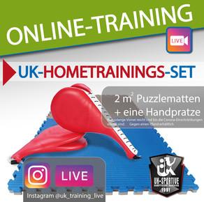 Hometraining-Sets für unsere             UK-Sportler