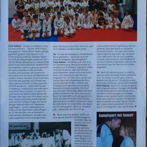 Interview Ümit Kalkan in Taekwondo Aktuell