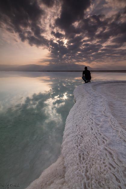 Relaxing on salt