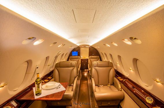 Hawker-800XP private jet