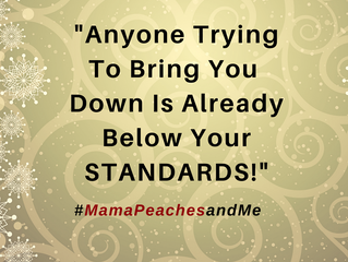 "It's ""Mama Peaches and Me"" Monday!"