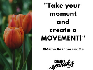It's Mama Peaches Monday!