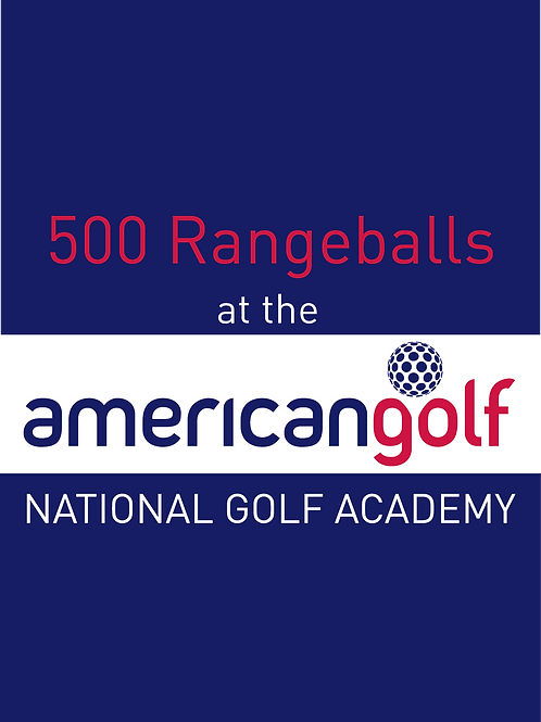 500 Range Balls