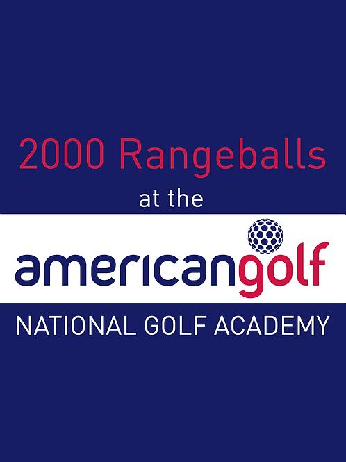 2000 Range Balls