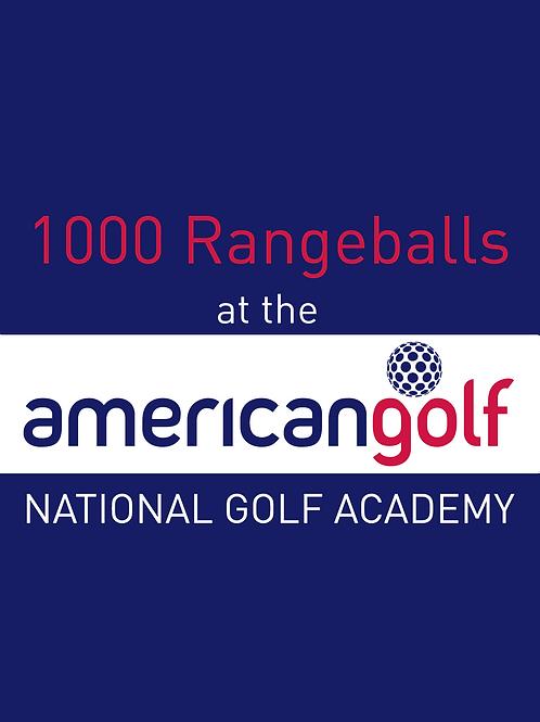 1000 Range Balls