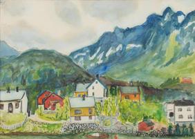 """246. Dagny Brun Arctander. """"Storøya."""""""