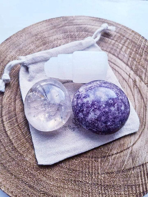 Clear & Reset Crystal Set
