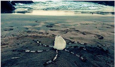 FB_IMG_1476894656451 (1)_dited.jpg Ireland Beaches, Clonea beach, crystal grid on beach.