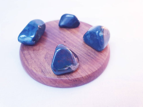 Set of 4 Bloodstone Tumbled Crystals