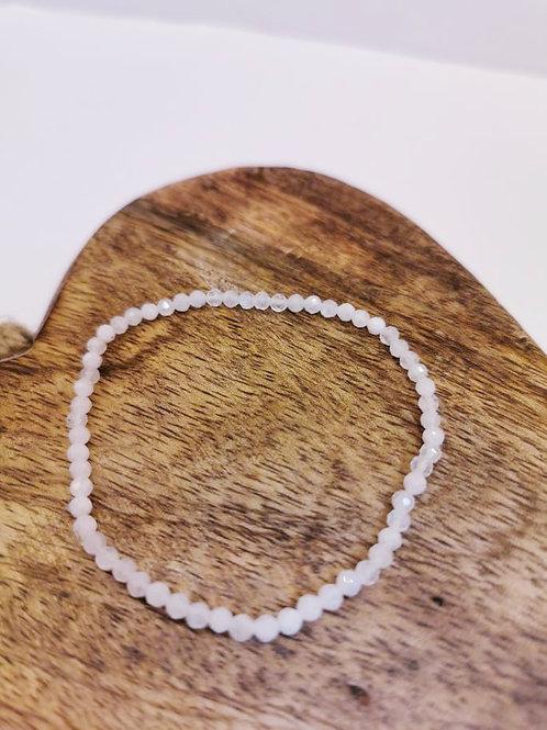 Moonstone Facet Bracelet