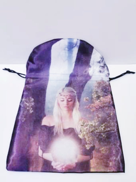 Cindy Grundsten Oracle Angel Bag