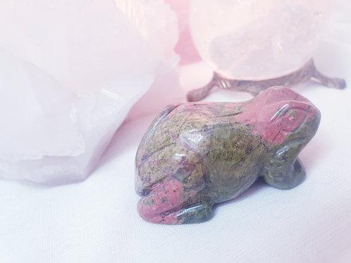 Unakite Frog