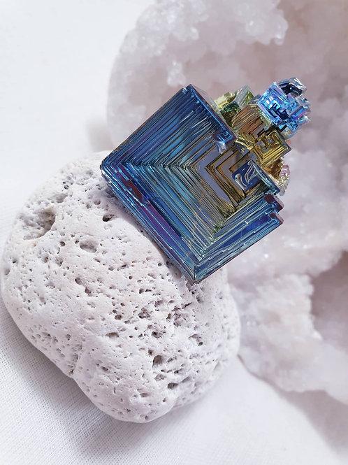 Bismuth Crystal Formations