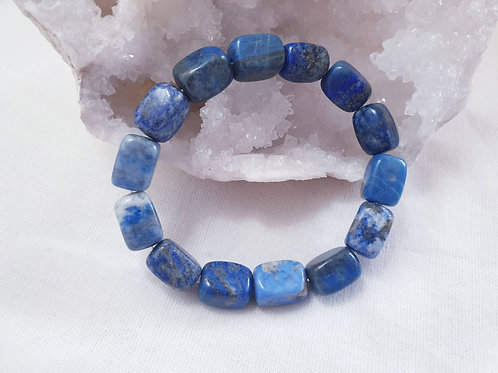 Lapis Lazuli Tumbled Bracelet