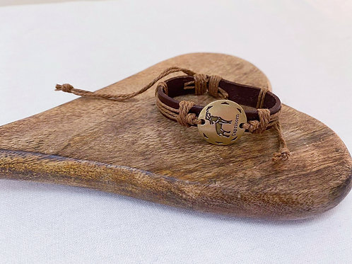 Capricorn Macho Man Bracelet