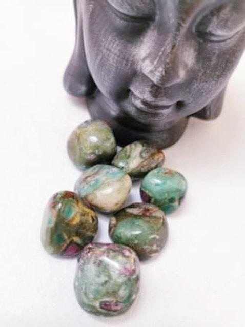 Ruby in Fuchsite Tumbled stone