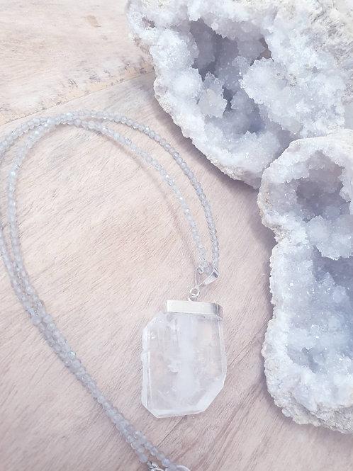 Himalayan Faden Quartz & Labradorite
