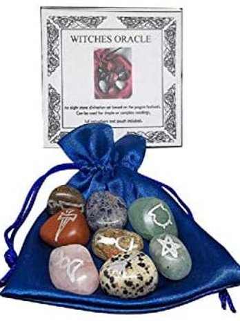 Witches Oracle Crystal Set
