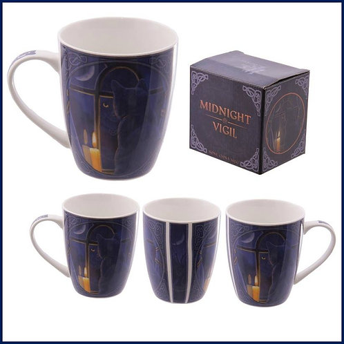 Midnight Vigil design mug/cup by Lisa Parker