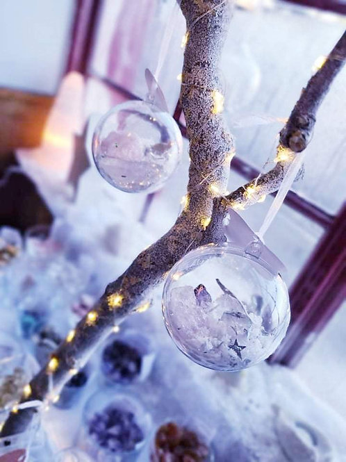 Crystal Christmas Baubles