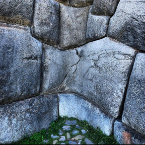 Sacsayhuaman stone wall in Peru