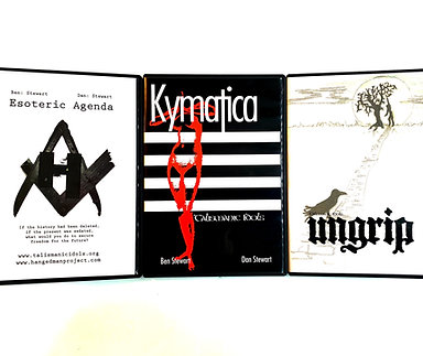 3 Films Bundle (Kymatica, Esoteric Agenda, & Ungrip)