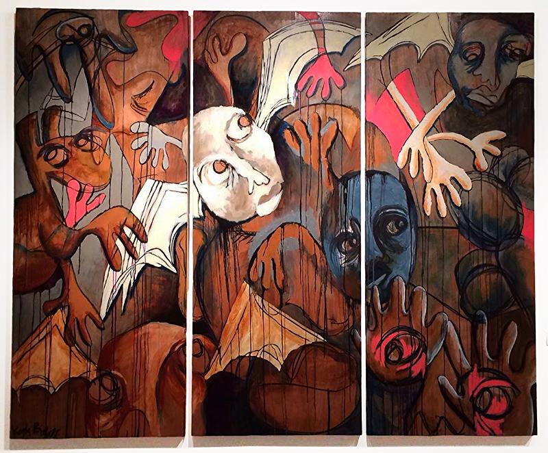Marionette Triptych