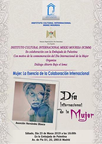 Como representante de  Argentina en un evento por el Día Internacional de la Mujer.